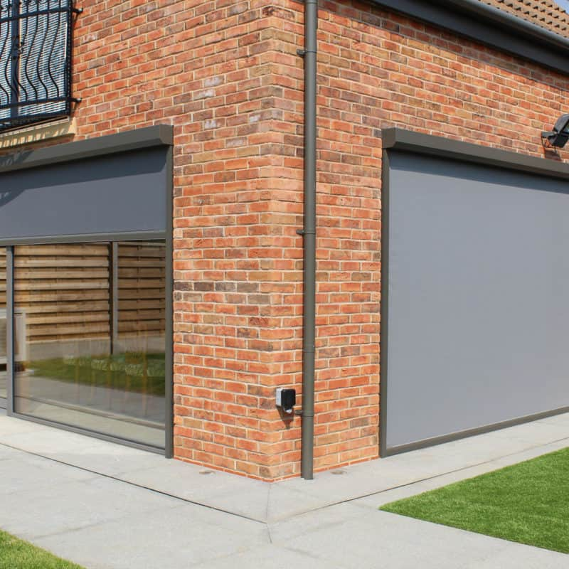 Externally Fitted Motorised Screens