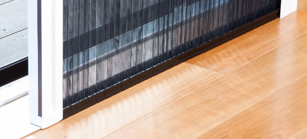 pleated fly screens
