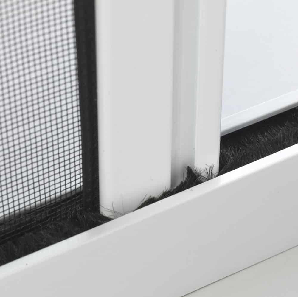 door fly screen close up