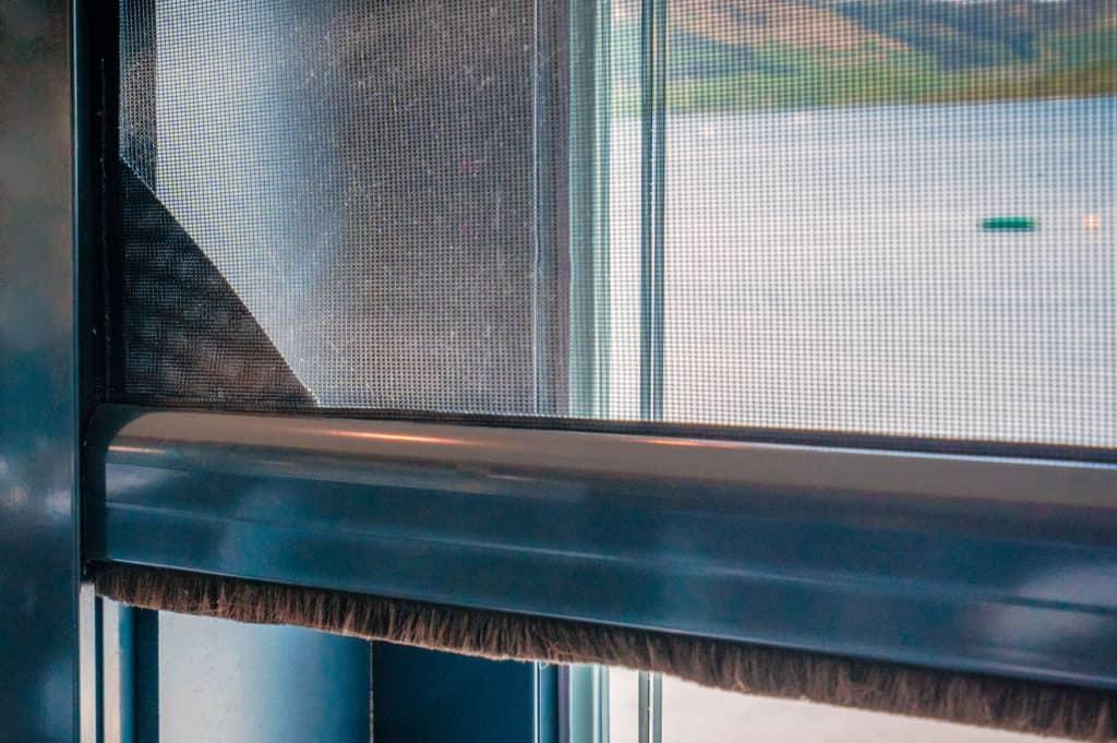 mesh materials for door and window screens