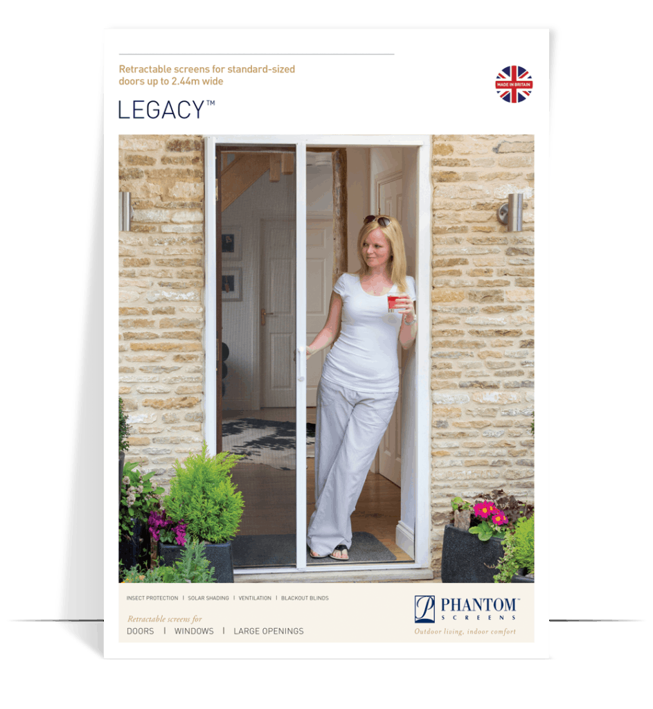 legacy product brochure - fly screens for doors - standard size