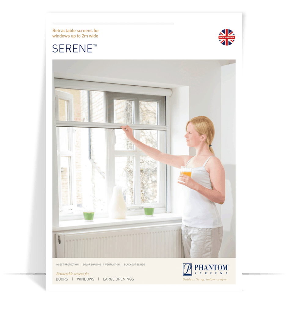 serene product brochure - fly screens for windows