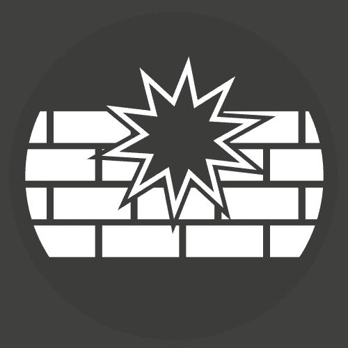 knock down walls