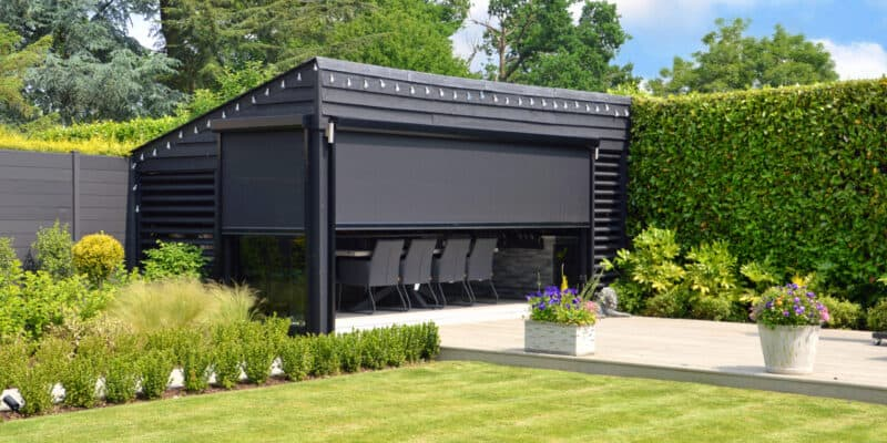 Power Screens for privacy and solar protection