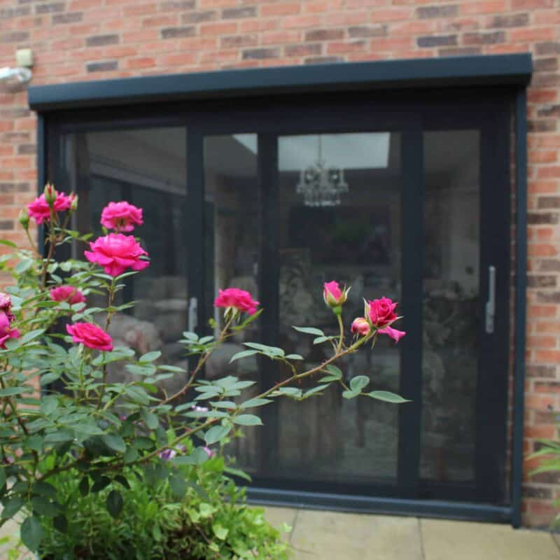 Fly screens for large doors