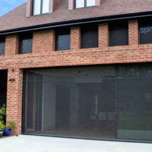 Solar protection in a london borough - rear of house