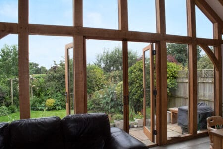 Enjoy garden views whilst keeping insects out