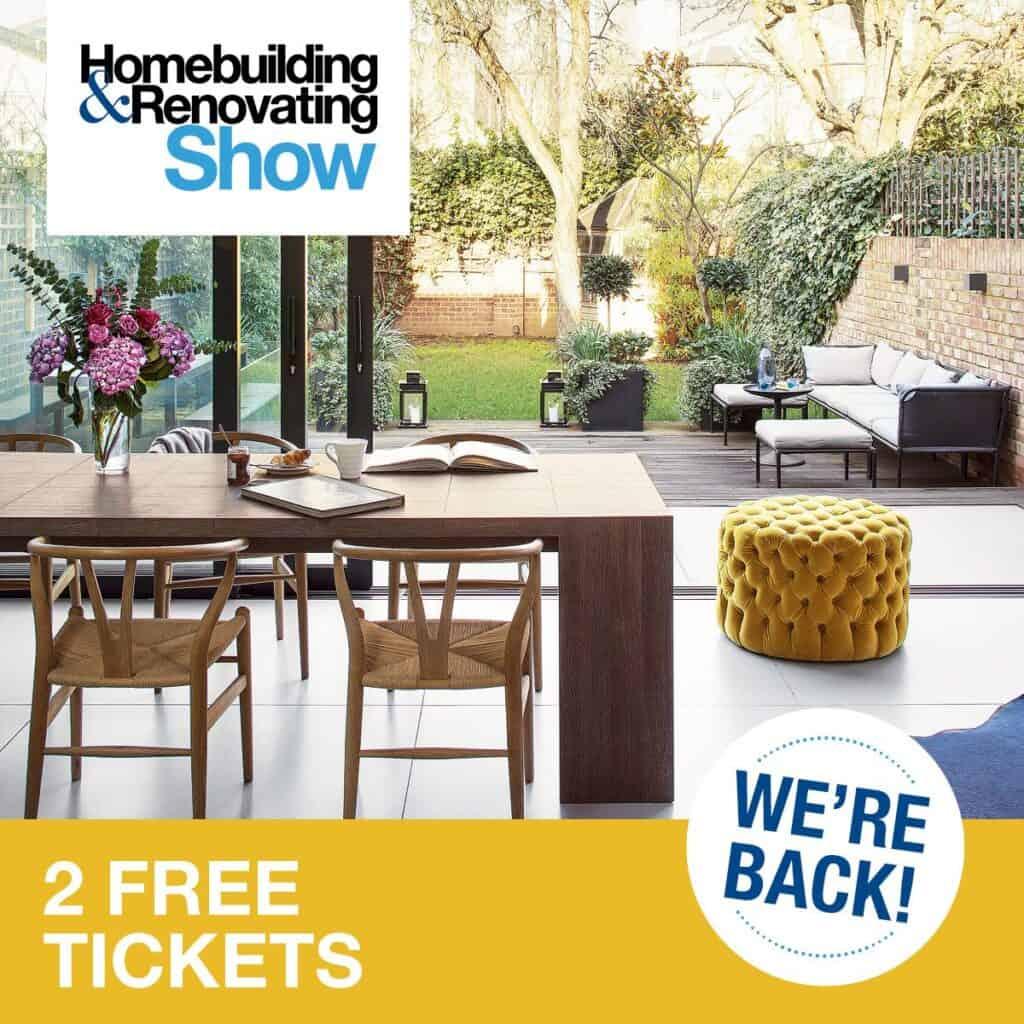 Homebuilding and renovating show promo