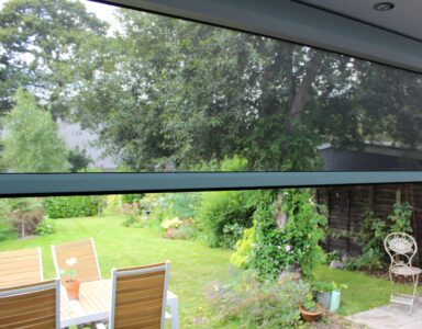 Power Screens don't disrupt the view of your beautiful garden!