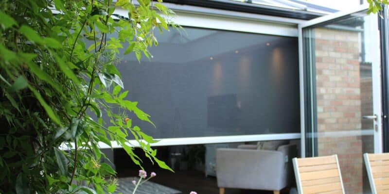 Let the doors open worry-free with a Power Screen