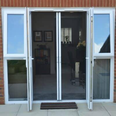 Double Door Fly Screen